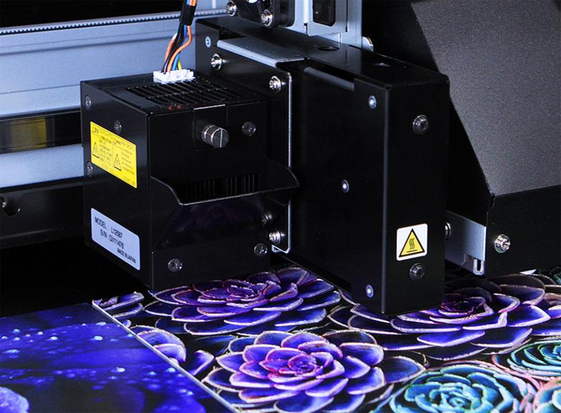 печать чернилами ECO UV