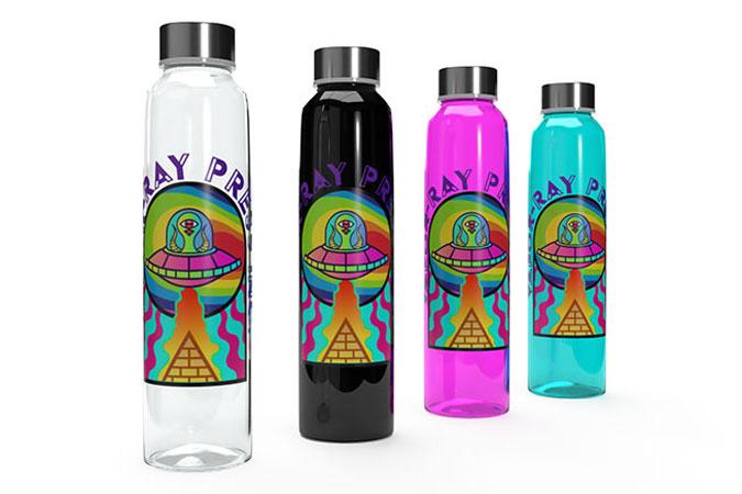 УФ печать на бутылках